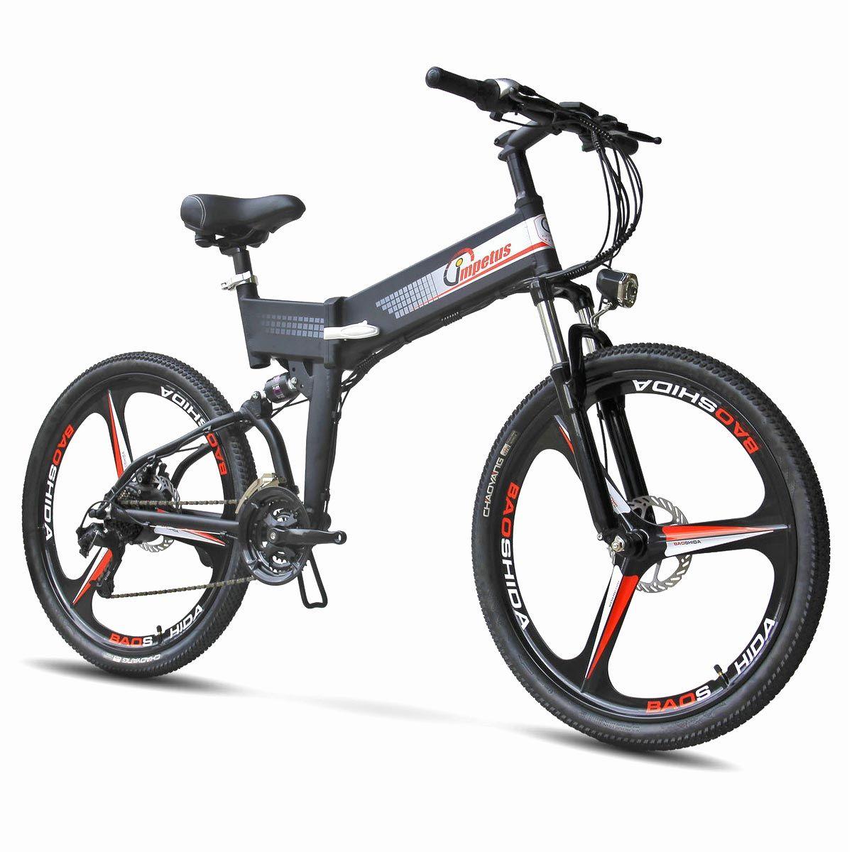 Bicicleta Electrica Ares X – Impetus (Plegable)