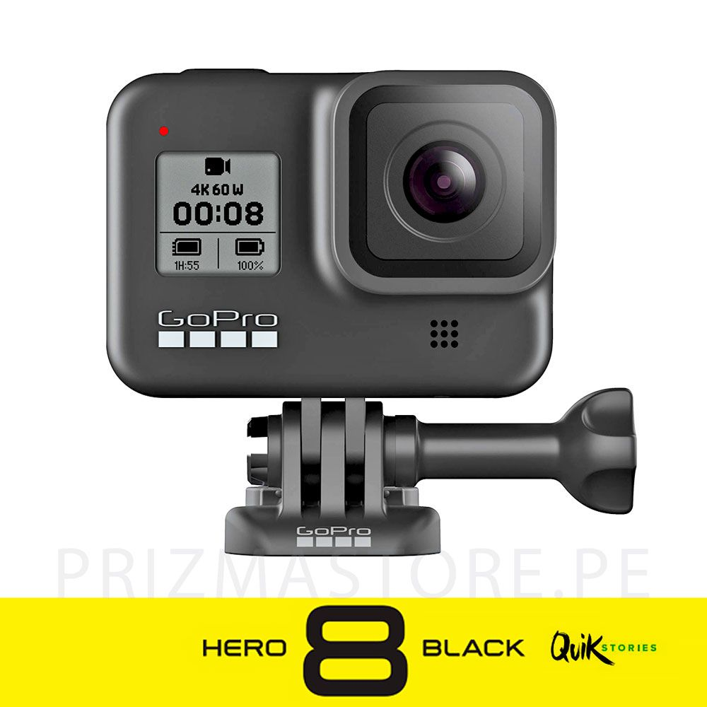 GoPro Hero 8 Black Camara 4k 60fps Ultra HD